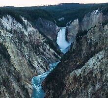 Grand Canyon of Yellowstone, Lower Falls by Taryn Halterman