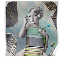 Girl in the big city Poster