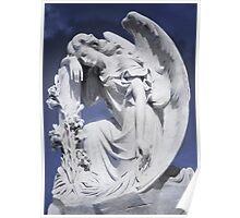 Pensive Angel Poster