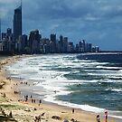 Beach Life Gold Coast Australia by Jason Dymock Photography
