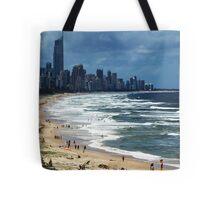 Beach Life Gold Coast Australia Tote Bag
