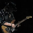 Stevie Ray Vaughn by lindsycarranza