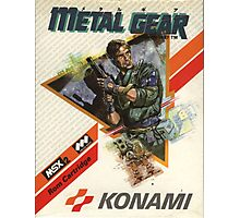 Metal Gear NES Photographic Print