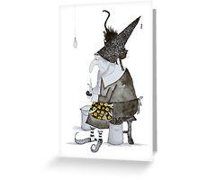 Wizard Petrosilius Zwackelmann Greeting Card
