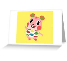 Apple the Hamster Greeting Card