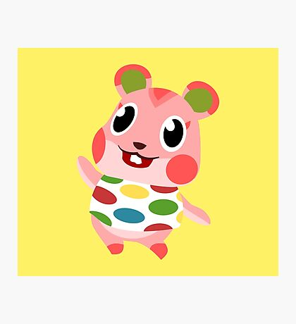 Apple the Hamster Photographic Print