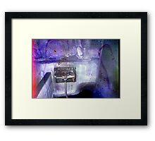 Abandoned Roadhouse Framed Print
