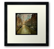 The Zuiderkerk at Amsterdam Framed Print