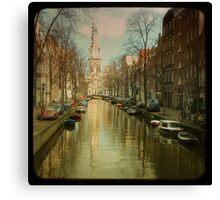 The Zuiderkerk at Amsterdam Canvas Print