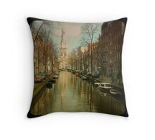 The Zuiderkerk at Amsterdam Throw Pillow