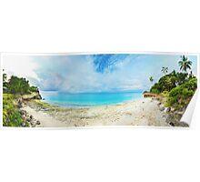 Tropical panorama Poster