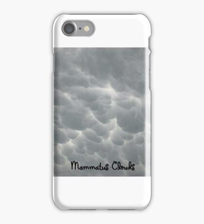 Mammatus Clouds iPhone Case/Skin