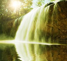 Waterfall pool by MotHaiBaPhoto Dmitry & Olga