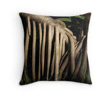 Pandanas Roots Throw Pillow