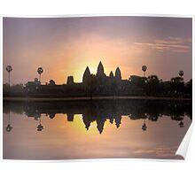 Angkor wat. Poster