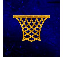 Basketball Hoop Photographic Print