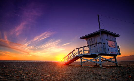 Santa Monica Sunset #1 by Firesuite
