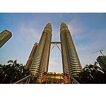 The Petronas Towers Photographic Print
