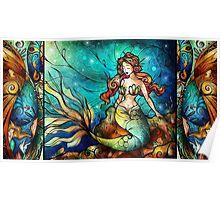 The Serene Siren Poster