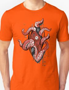 Octopus Coming Out of Your Chest Unisex T-Shirt