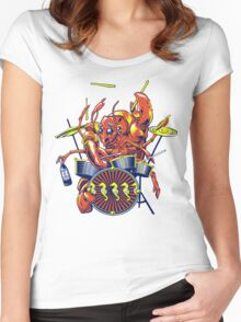 Rocking Lobster Women's Fitted Scoop T-Shirt