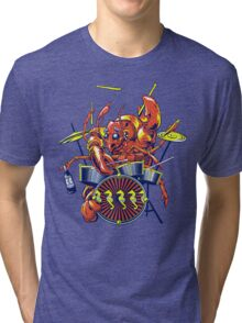 Rocking Lobster Tri-blend T-Shirt