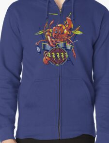 Rocking Lobster Zipped Hoodie