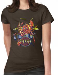 Rocking Lobster Womens Fitted T-Shirt