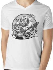 Roth Zombie Mens V-Neck T-Shirt