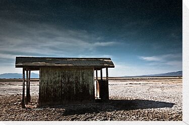 Abandoned Hut - Salton Sea by Firesuite