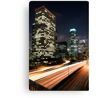 Downtown Los Angeles Freeway Canvas Print
