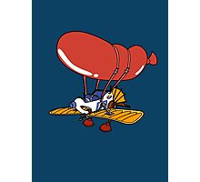 Rescue Rangers Plane Photographic Print