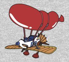 Rescue Rangers Plane One Piece - Long Sleeve