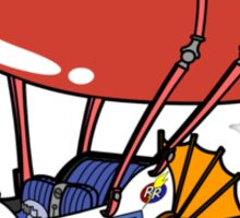 Rescue Rangers Plane Sticker