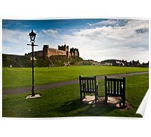 Bamburgh Castle, Northumberland Coast. UK Poster
