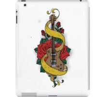 Guitare and Rose iPad Case/Skin