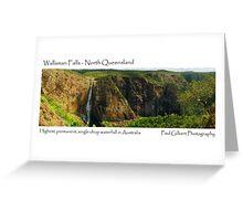 Wallaman Falls - North Queensland Greeting Card
