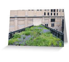 Tracks to Nowhere,High Line, New York City Greeting Card