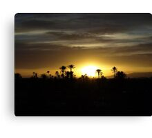 Moroccan Sunset Canvas Print