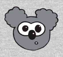 Cartoon Koala One Piece - Long Sleeve
