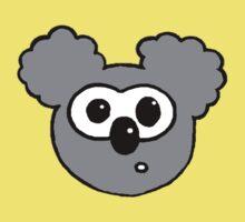 Cartoon Koala One Piece - Short Sleeve