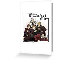 Second Breakfast Club Greeting Card