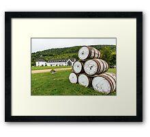 Glenora Distillery Nova Scotia Framed Print