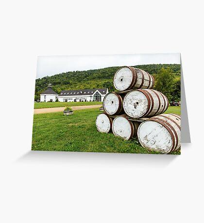 Glenora Distillery Nova Scotia Greeting Card