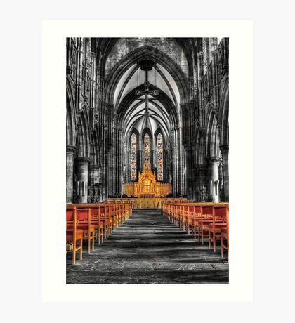 St Marys Cathedral Art Print