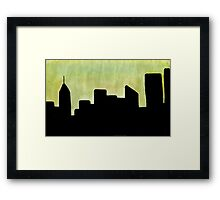 The Place I Used to Live Framed Print