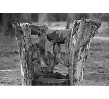 Wooden chair Photographic Print