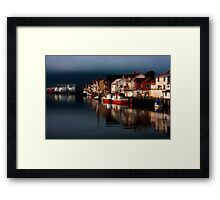 Henningsvaer. Lofoten Islands. Norway. Framed Print