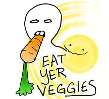 Eat Yer Veggies by Chyna Ly