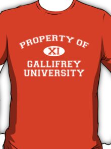 Property of Gallifrey University - 11th Doctor T-Shirt